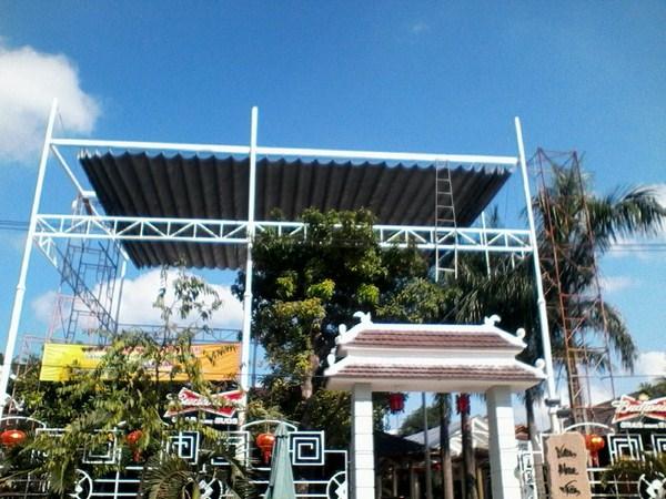 Lắp mái hiên di động chất lượng ở Gò Vấp, TP HCM