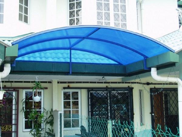lắp mái hiên di động giá rẻ ở quận 2 TP HCM