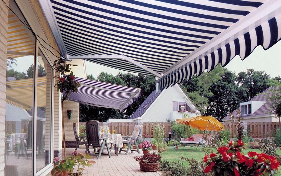 Sân vườn với mái hiên di động quận Gò Vấp